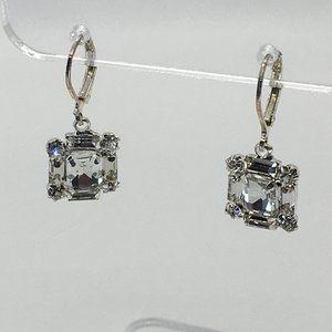 Simulated Crystal Earrings